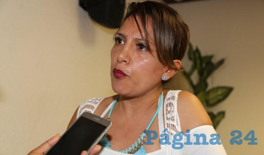 Aída Karina Banda Iglesias, diputada local (Foto: Eddylberto Luévano Santillán)