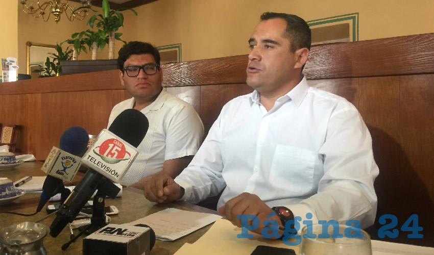 Gerardo Espinoza Solís, abogado que lleva el caso, actualmente se promociona la renta de espacios del recinto ferial cuando el tema no se ha resuelto por la autoridad administrativa (Foto Cristo González)