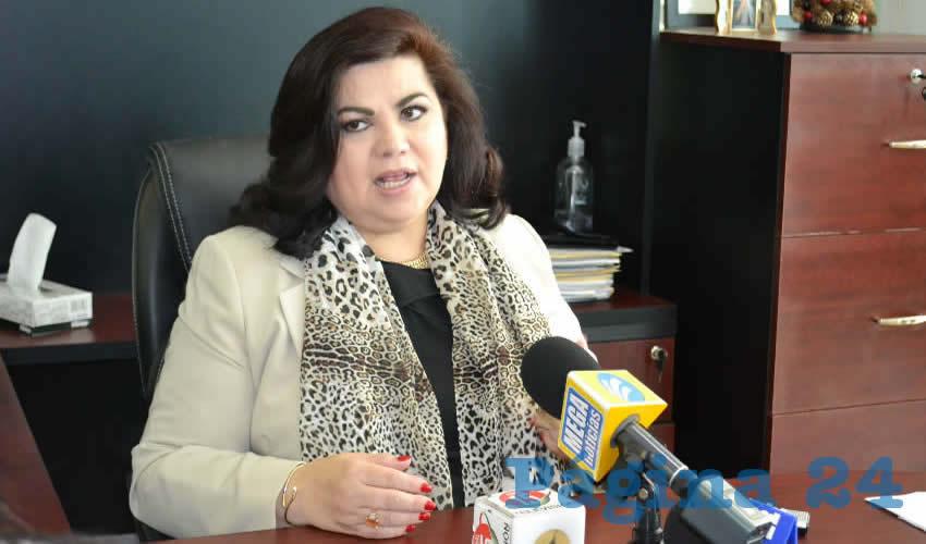 Lorena Oropeza Muñoz, fiscal especializada en trata de personas (Foto: Merari Martínez)