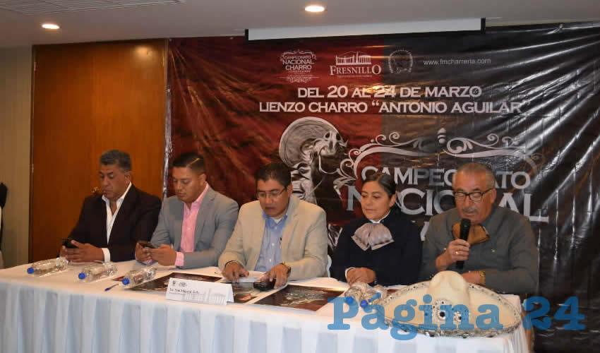 Anuncian Campeonato Nacional Charro Constitución 2019 a Realizarse en Fresnillo
