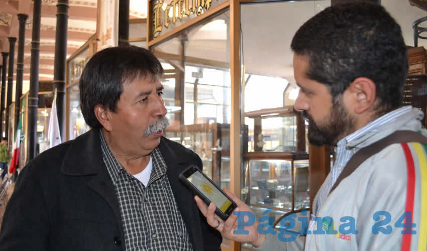Gregorio Sandoval Flores, regidor del ayuntamiento capitalino