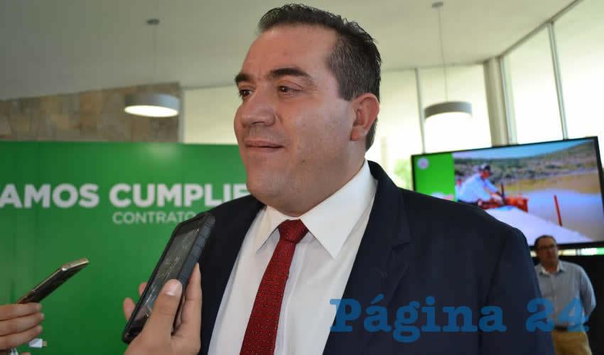 Luis Fernando Maldonado Moreno, expuso que el problema va más allá de la competencia de las juntas de agua potable, así como de los municipios (Foto: Merari Martínez)
