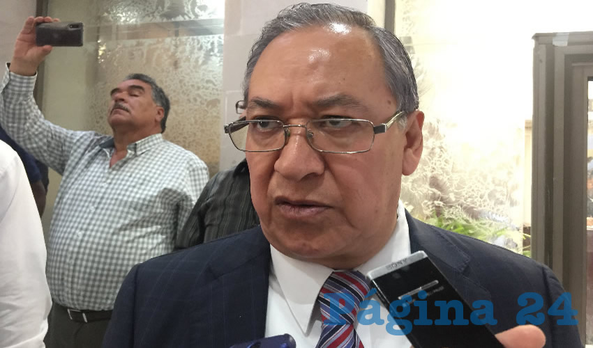 Miguel Rivera Villa, subsecretario de Transporte Público (Foto Cristo González)
