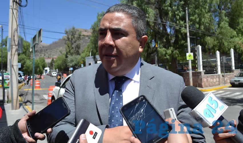 Porfirio Sánchez Mendoza, secretario de Seguridad Pública del Estado de Aguascalientes (Foto: Merari Martínez)