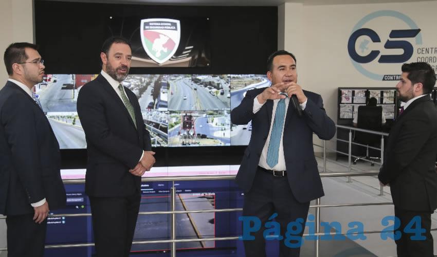 El Gobernador ha invertido más de 200 mdp para equipar y modernizar el Centro de Comando Control Computo y Comunicaciones