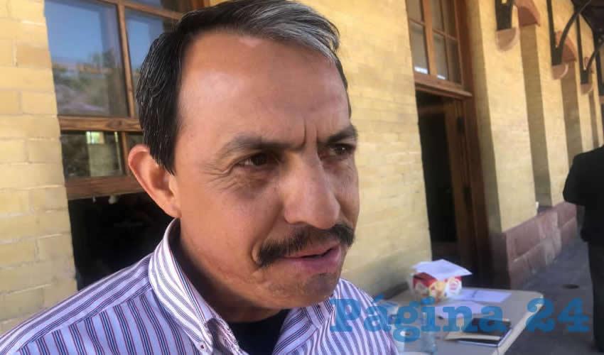 Enrique Bañuelos Rayas, vicepresidente del Comité Estatal Sistema-Producto Maguey Mezcal de Aguascalientes