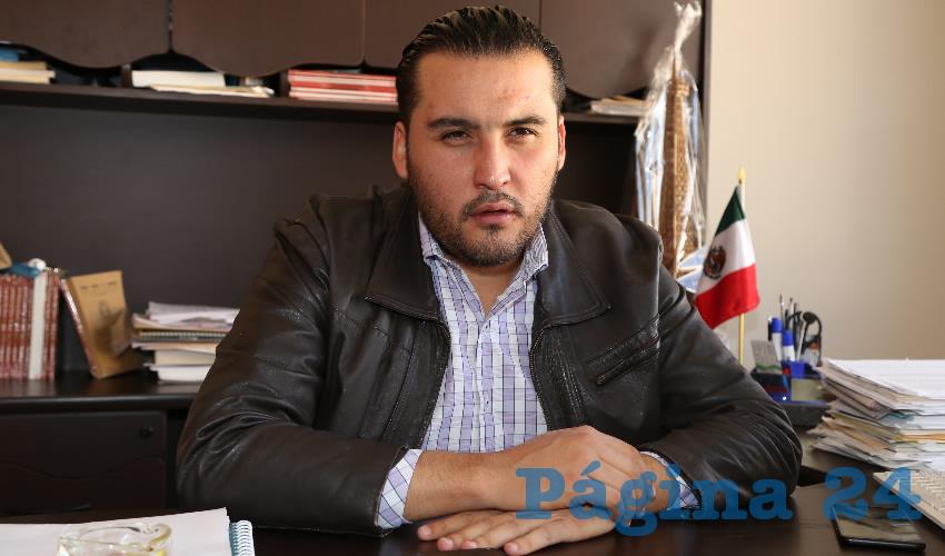 Aldo Emmanuel Ruiz Sánchez, delegado de Bienestar en Aguascalientes