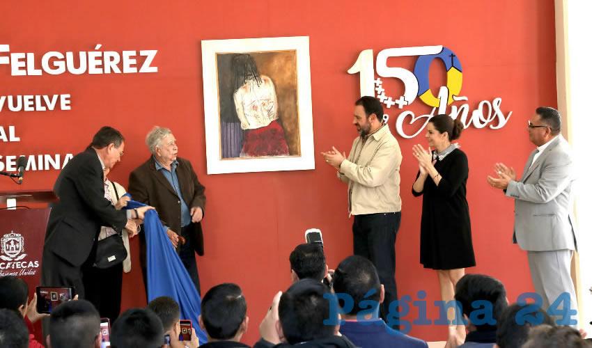 El mandatario estatal asegura que el artista demuestra con ello su generosidad y su cariño por Zacatecas