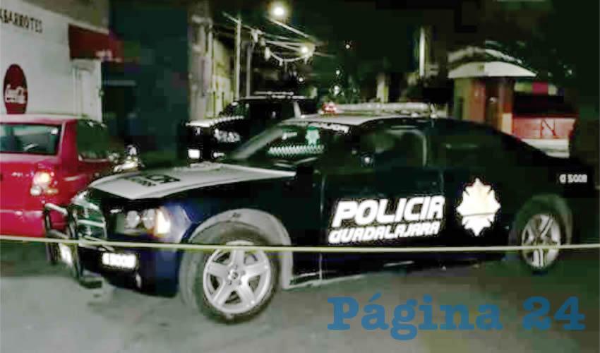 El cuerpo de un hombre asesinado fue localizado en la calle Río La Paz, presentaba visibles huellas de violencia/Foto: Especial