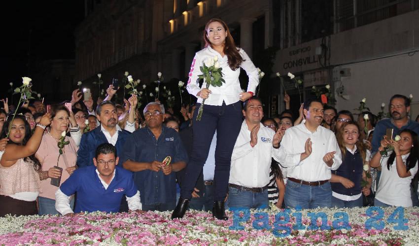 Tere Jiménez Esquivel, candidata del PAN a la alcaldía de Aguascalientes