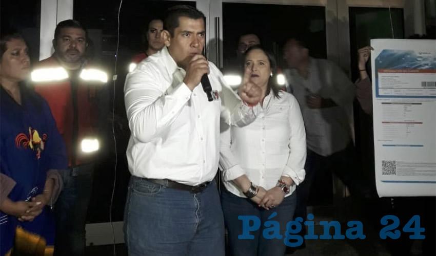 Netzahualcóyotl Ventura Anaya, candidato a la presidencia municipal por el Partido Revolucionario Institucional
