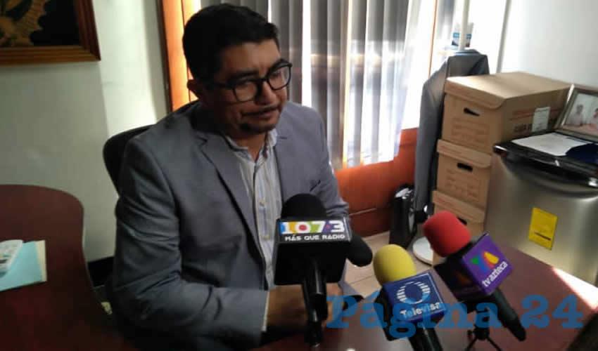 Gustavo Tristán López, regidor del Municipio de Aguascalientes