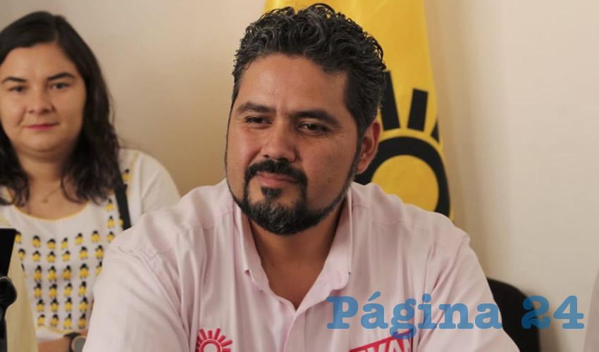 Iván Sánchez Nájera ...se acabaron el PRD...