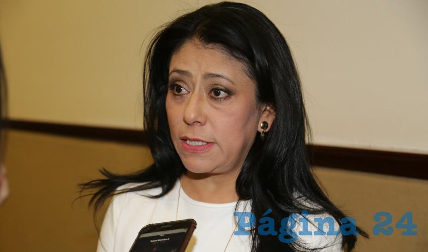 La diputada Patricia García solicita comprensión (Foto: Archivo)