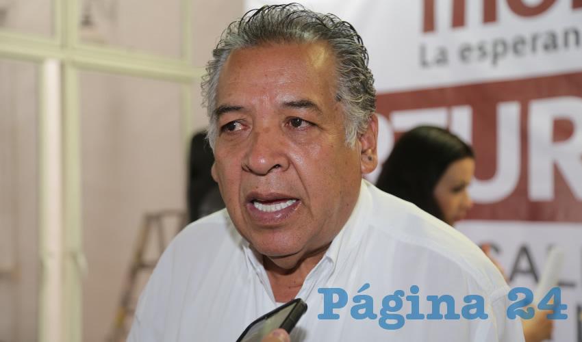 Exhorta Cuitláhuac Cardona a los Morenistas Inconformes a Sumarse al Trabajo Partidista
