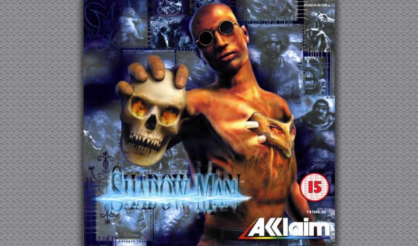 Arte desarrollado para servir de portada de las diferentes versiones del juego, en el que vemos a Michael Le Roi sosteniendo uno de los artefactos vudú (Foto: Especial)