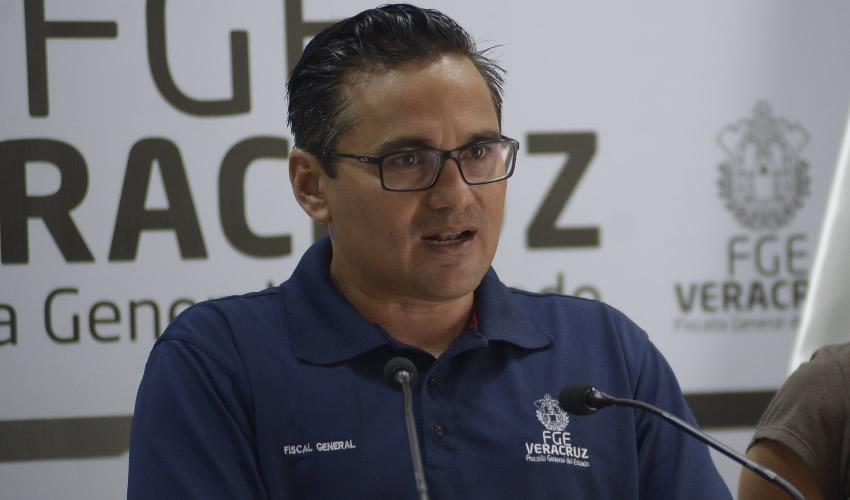 Jorge Winckler Ortiz, fiscal General del Estado de Veracruz (FGE) (Foto: Alberto Roa/Archivo/Cuartoscuro)