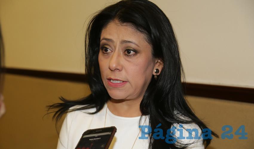 Patricia García García, diputada local