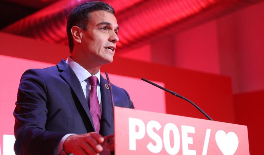 Sánchez Acepta Encargo del Rey Para Formar Gobierno en España