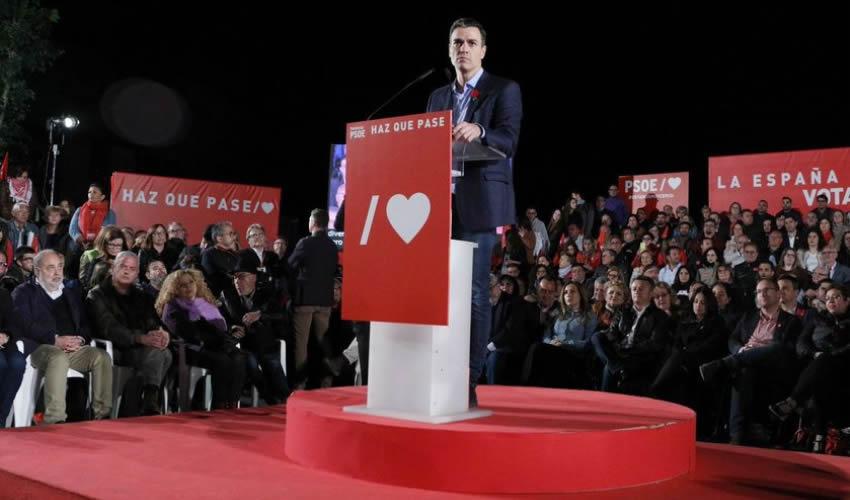 Pedro Sánchez, presidente del gobierno de España (Foto: Tomada de Twitter @PSOE)