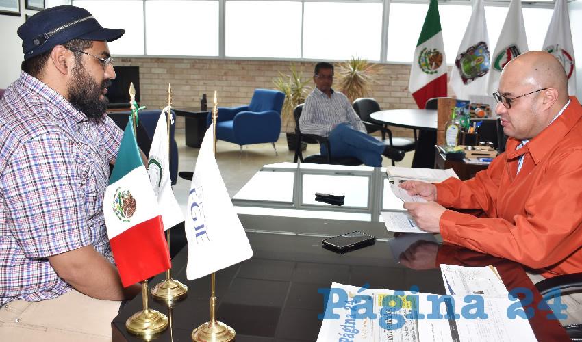 Francisco Murillo Ruiseco, titular de la Fiscalía General de Justicia del Estado (FGJE) (Foto Rocío Castro Alvarado)
