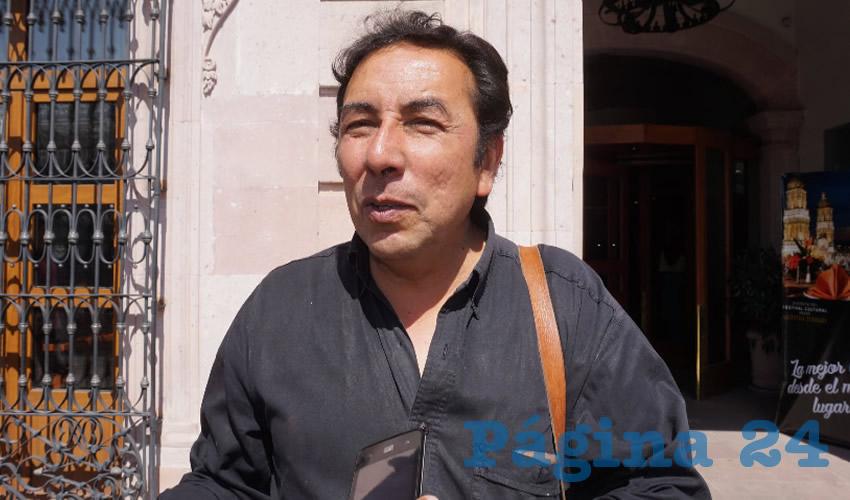Martín Letechipia Alvarado (Foto Rocío Castro Alvarado)