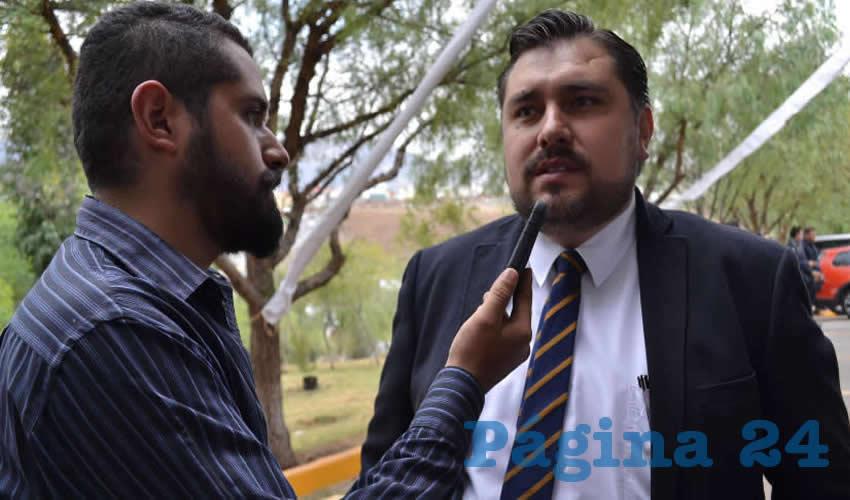 Armando García Neri, titular de la Subsecretaría de Prevención del Delito (Foto: Merari Martínez)