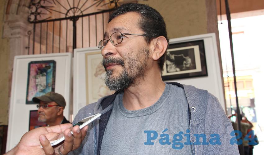 Gerardo Mata Chávez (Foto Rocío Castro Alvarado)