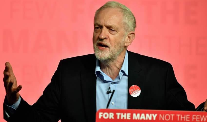 Jeremy Corbyn, líder del Partido Laborista británico (Foto: Archivo/Xinhua)