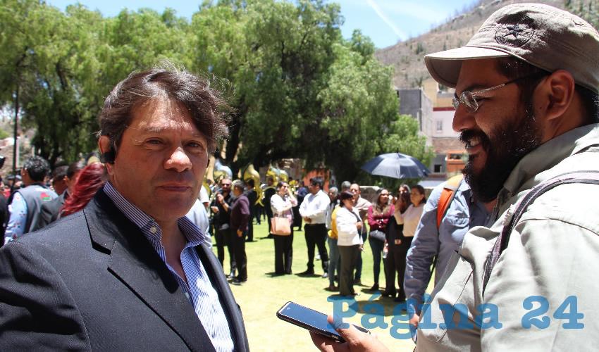 Felipe Casas Soto (Foto Rocío Castro Alvarado)