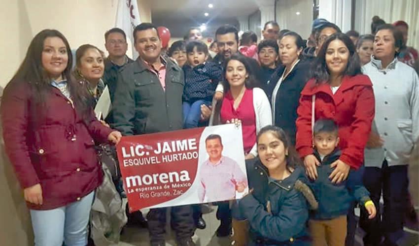 Jaime Manuel Esquivel Hurtado: de Petista a Morenista
