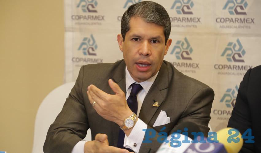 Raúl González Alonso, presidente estatal de Coparmex (Foto: Archivo)
