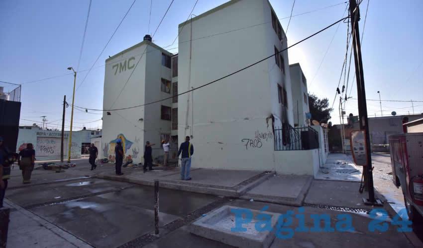 Explosión en Edificio de Pilar Blanco
