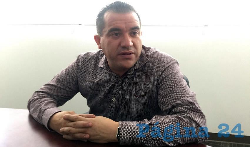 Luis Fernando Maldonado Moreno, titular de la Secretaría de Agua y Medio Ambiente (SAMA) (Foto Cristo González)
