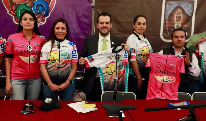 Llegarán a la capital más de 500 ciclistas de diferentes municipios y estados de la República
