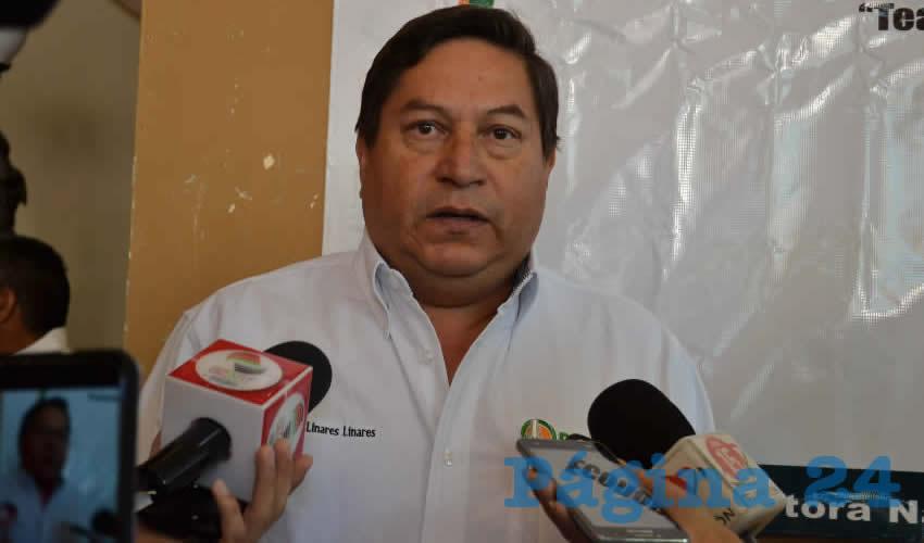 Marco Linares Linares, coordinador general de Pronaes y miembro del Consejo para el Fomento a la Inversión, el Empleo, y el Crecimiento Económico de la oficina de la presidencia de la República de México (Foto Merari Martínez)