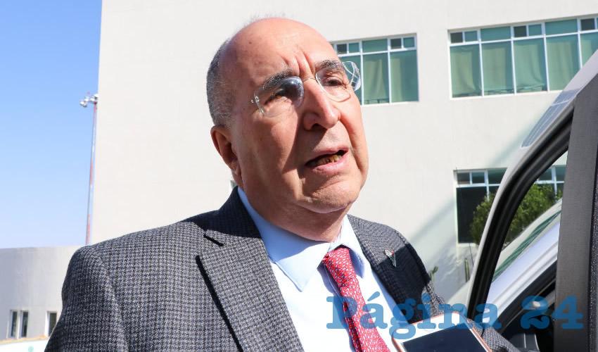 Gilberto Breña Cantú (Foto Rocío Castro)