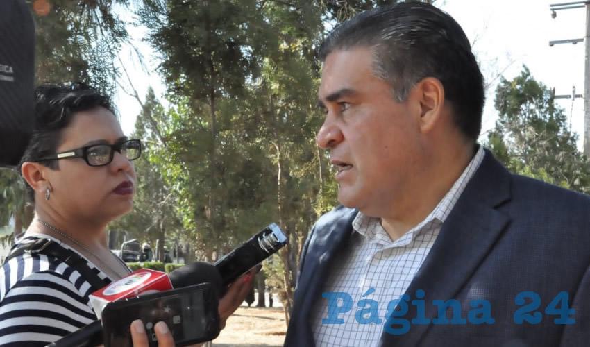 Ismael Camberos Hernández, el titular de la Secretaría de Seguridad Pública (SSP) (Foto: Merari Martínez)