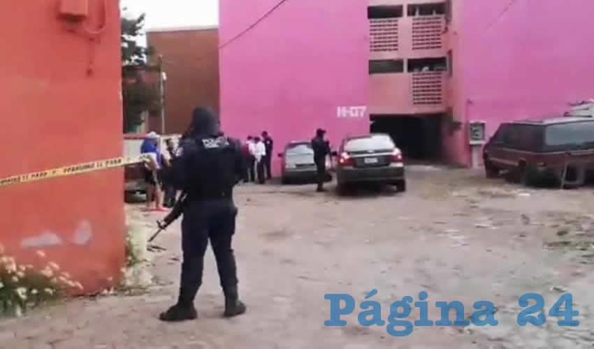 Elementos de la Policía Metropolitana acudieron a apoyar a los elementos Preventivos