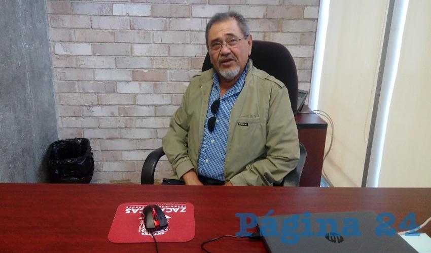 Javier Ramírez García (Foto: Manuel Medina)