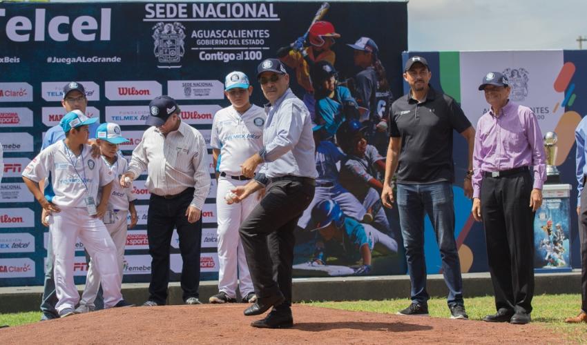 Aguascalientes es Sede del Torneo de Beisbol Juvenil más Grande del Mundo