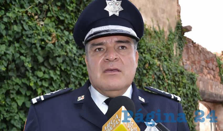 Ismael Camberos Hernández, titular de la Secretaría de Seguridad Pública (SSP (Foto: Merari Martínez)
