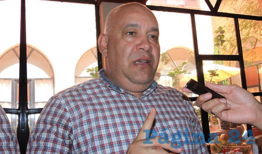 Carlos García Murillo (Foto: Rocío Castro Alvarado)