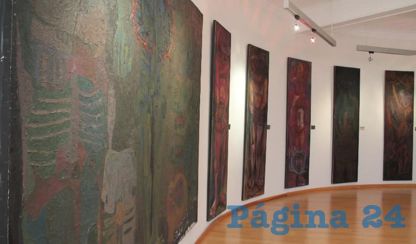 El museo también alberga la obra de importantes artistas zacatecanos como es el caso de los hermanos Pedro y Rafael Coronel, Manuel Felguérez, Julio Ruelas y José Kuribreña