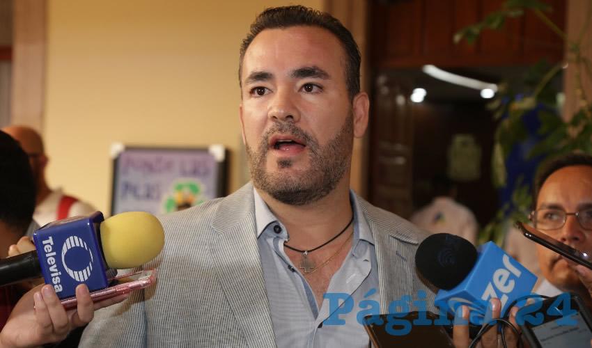 Mauricio González López, regidor presidente de la Comisión Permanente de Derechos Humanos