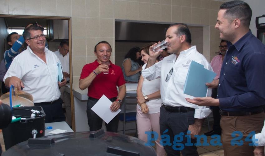 Se han instalado 12 equipos de filtración en los municipios de Asientos, Tepezalá, El Llano, San José de Gracia y Calvillo