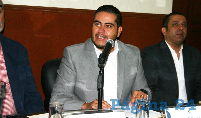 El diputado emecista Daniel de León pugnó por entrarle a estos trabajos, ya que México ocupa el primer lugar a nivel mundial en ataques contra periodistas, y figura también entre los primeros lugares en casos de violencia física y abuso sexual/Foto: Francisco Tapia