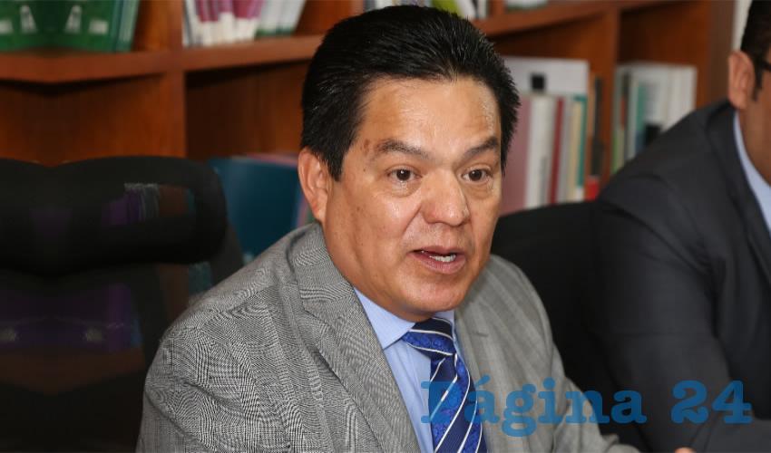 Héctor Salvador Hernández Gallegos, magistrado presidente del Tribunal Estatal Electoral de Aguascalientes (TEEA)