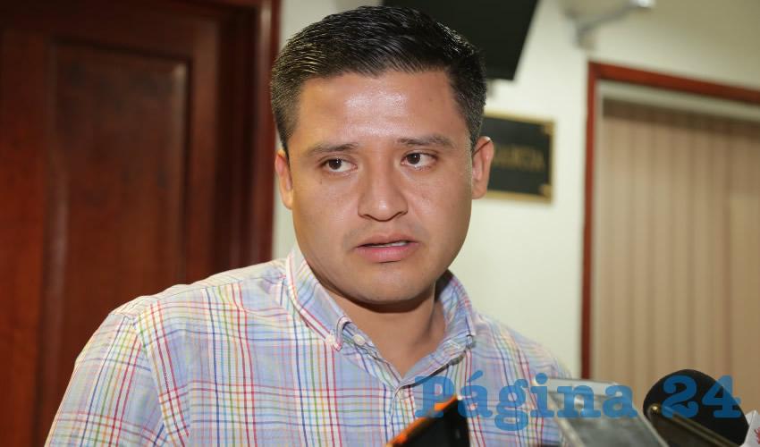 Heder Guzmán Espejel, diputado local (Foto: Eddylberto Luévano Santillán)
