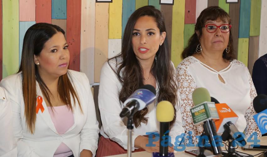 Mabel Haro Peralta, presidenta de Aidige AC (Foto: Eddylberto Luévano Santillán)